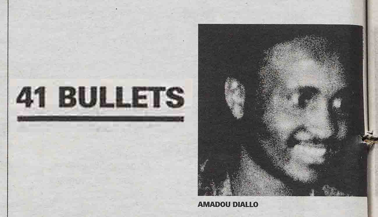 41 Bullets the shooting of amadou diallo and mayor Rudy Giulian