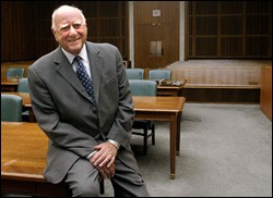 U.S. District Court Judge Jack Weinstein: He sees the human beings before him.