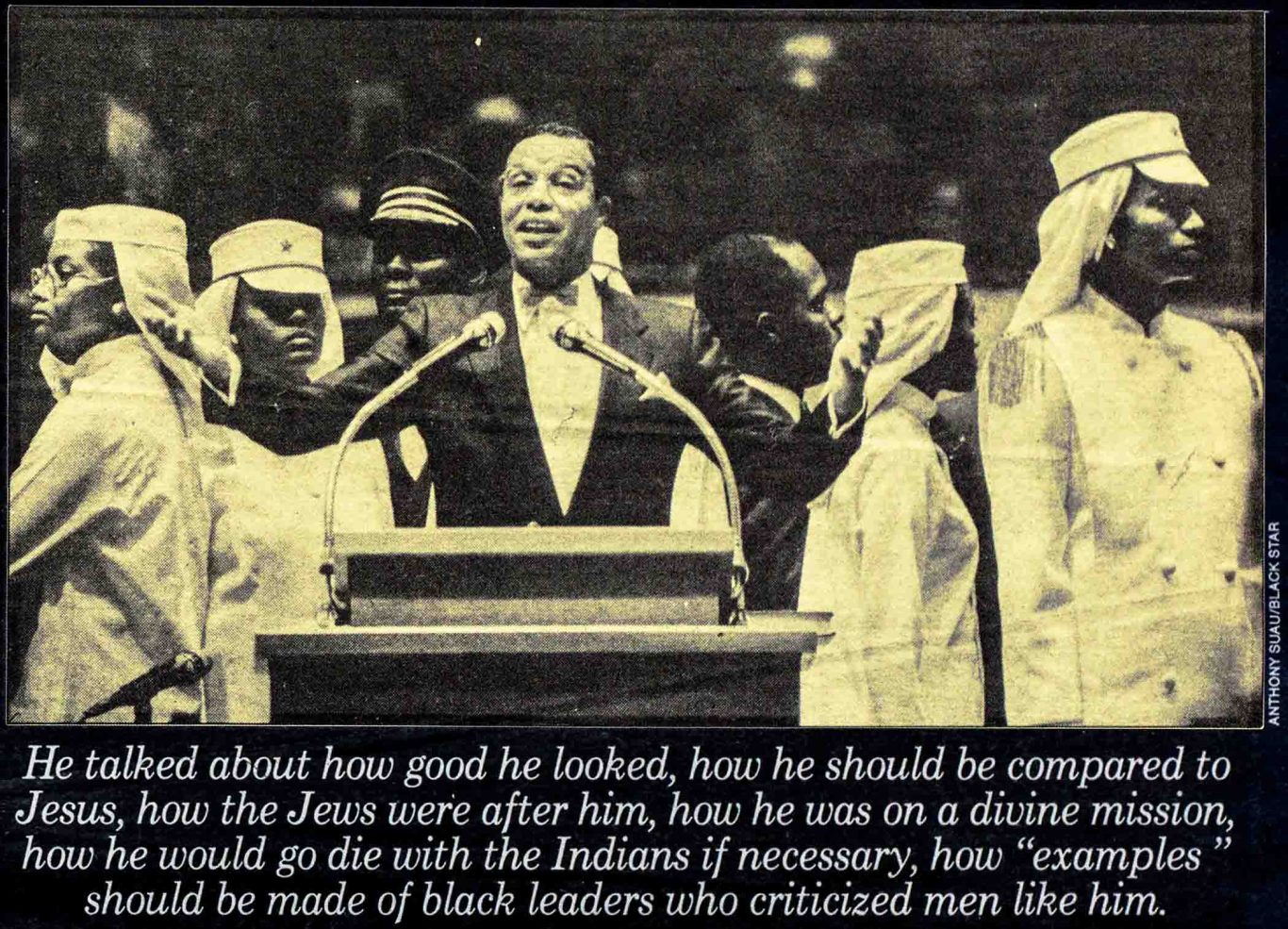 1985 Village Voice article by Stanley Crouch on Louis Farrakhan and the nation of Islam