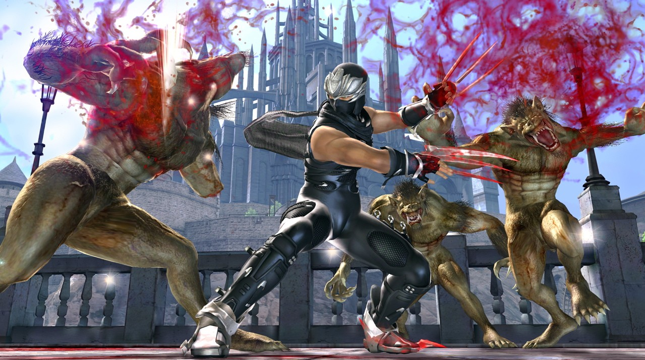 Ninja Gaiden Ii For Xbox Goes Heavy On Gore And Glitches The