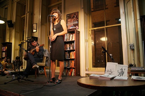 Photo of the Fiery Furnaces by Jesse Chan-Norris
