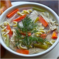 Chicken soup from Russ and Daughters