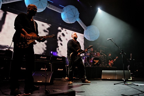 The Pixies, their generation's nostalgia-pimping gold standard. Photo by Jared Gruenwald
