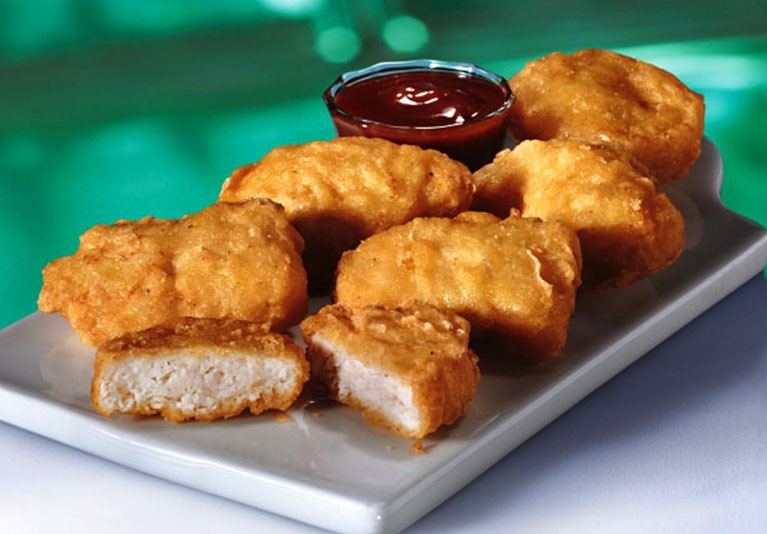 Use your leftover turkey to make McNuggets. Only better.
