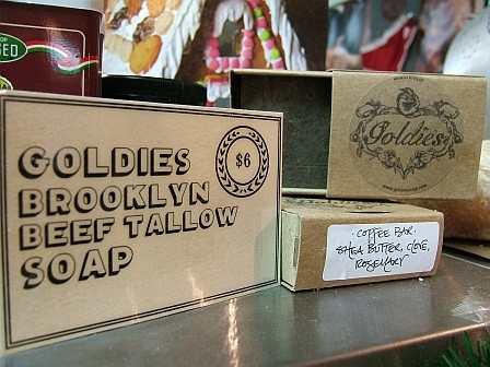 Goldie's: it will make you clean, and possibly wake you up.