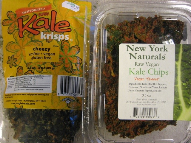 Which kale chips won't give you the green meanies?