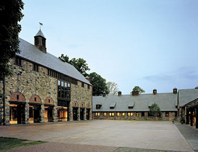 Stone Barns, brought to you in part by the letter 'C.'