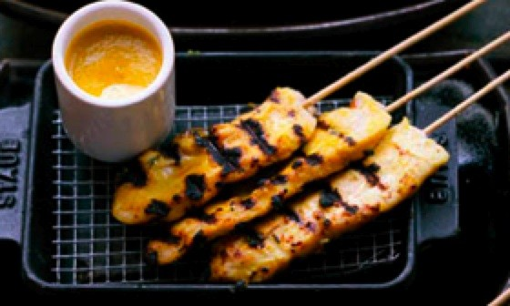 Spice Market's Chicken Satay with Lime Dipping Sauce