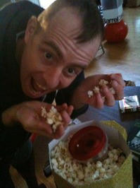 Ted Leo loves popcorn more than you