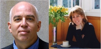 Michael Wolff will aggregate Sharon Waxman's smile. Sharon Waxman wants to mace Michael Wolff's face.