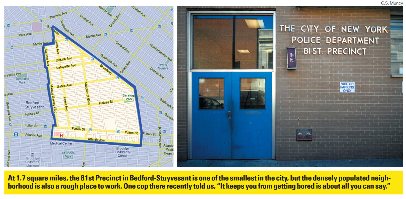 The NYPD Tapes: Inside Bed-Stuy's 81st Precinct | Village Voice