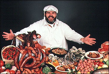 Paul Prudhomme in happier days.