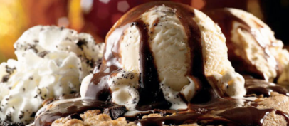 Applebee's chocolate chip sundae: not recommended for weight loss.