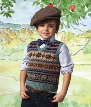 The messenger boy accent hat spells the future!