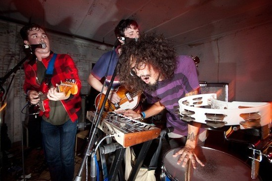 Surfer Blood at CMJ last year, before they were Webster Hall type of guys. Photo by Rebecca Smeyne.