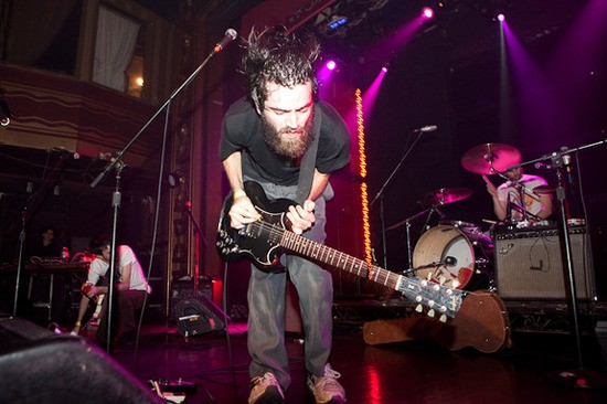 Titus Andronicus at Webster Hall last year. Photo by Rebecca Smeyne.