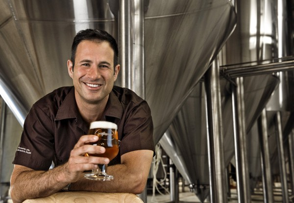 Sam Calagione's nine-year-old daughter owns part of the brewery. Will be popular in high school.