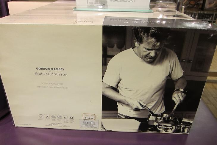Pots Pans Gordon Ramsay  Hell('s From & Cookware: Xmas