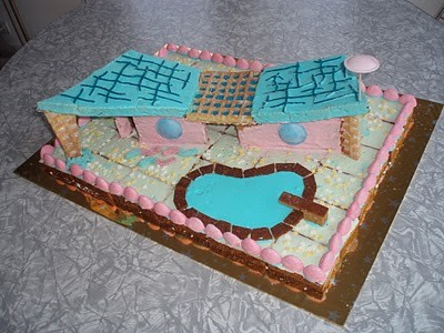 Gingerbread house by Charlie.