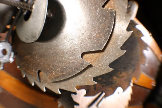 This commemorative saw blade could be yours