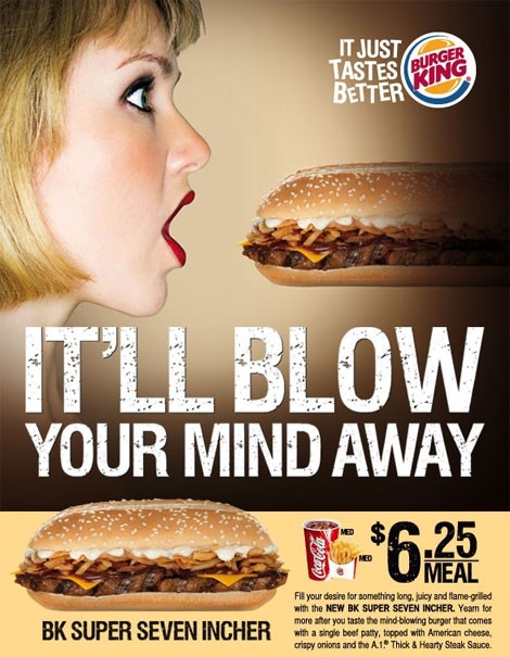 The ad that blew up in BK's face.