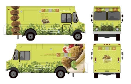 The fusion falafel mobile.