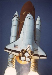 Endeavour, on a previous mission.