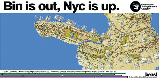 Here's the NYC Subway Map as an Erect , Excited About ... on upper manhattan map, manhattan bridge, mta bus map, manhattan crime map, nyc map, metro map, manhattan bus map, manhattan times square, manhattan street map, manhattan parks map, lower manhattan map, manhattan explosion, manhattan tourist map, manhattan buses map, manhattan walking map, nycsubway map, central park map, new york map, manhattan zip code map, manhattan map printable,