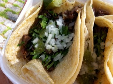 Yet another taco truck. Yay!