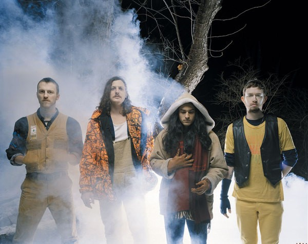 Yeasayer. Here's hoping things are a bit warmer than this for their shows this summer.