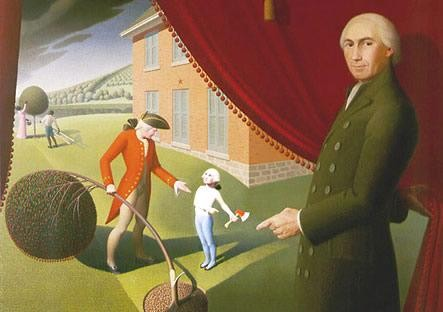 George Washington didn't really chop down a cherry tree, but he was fond of cherries.