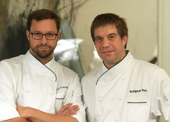 Eduard Frauneder and Wolfgang Ban, bringing a little piece of Austria to New York