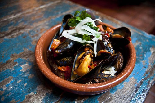 Flex your mussels.