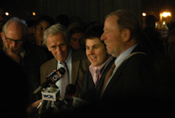 OWS legal team after the ruling.