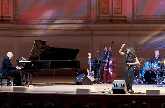 Chucho Valdés and the Afro-Cuban Messengers at Carnegie Hall on Saturday.