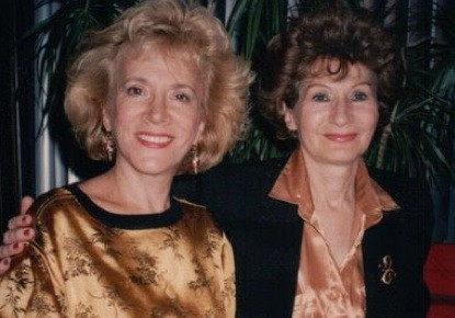 Paulette and Suzy in the 1980s