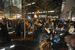 Occupy Wall Street in Zuccotti Park earlier this month.