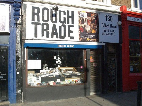 Rough Trade in Notting Hill, London.