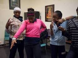 Actors in Theatre of the Oppressed's upcoming production in the Bronx.