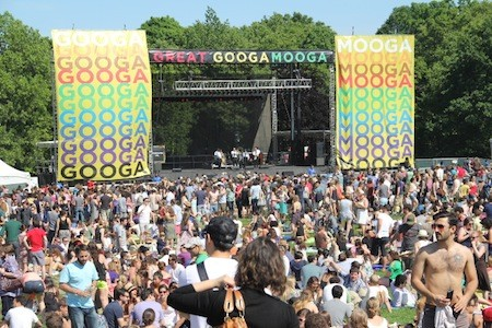 Center stage at GoogaMooga in Prospect Park. Check out more photos from GoogaMooga here.