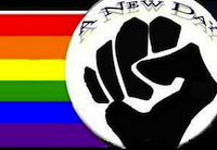 Once gay pride goes black, apparently, it doesn't go back