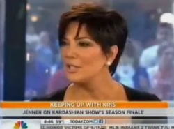 Forget the moment of silence, Kris Jenner wants to talk about her boobs!
