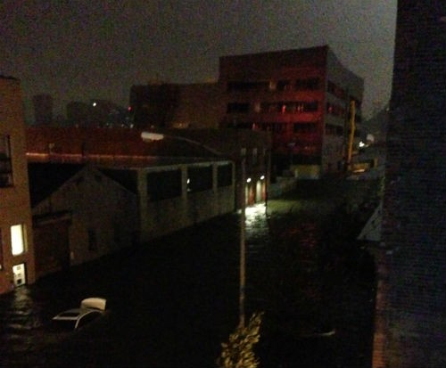 Dude, where's my car? Check the river that is now Long Island City.