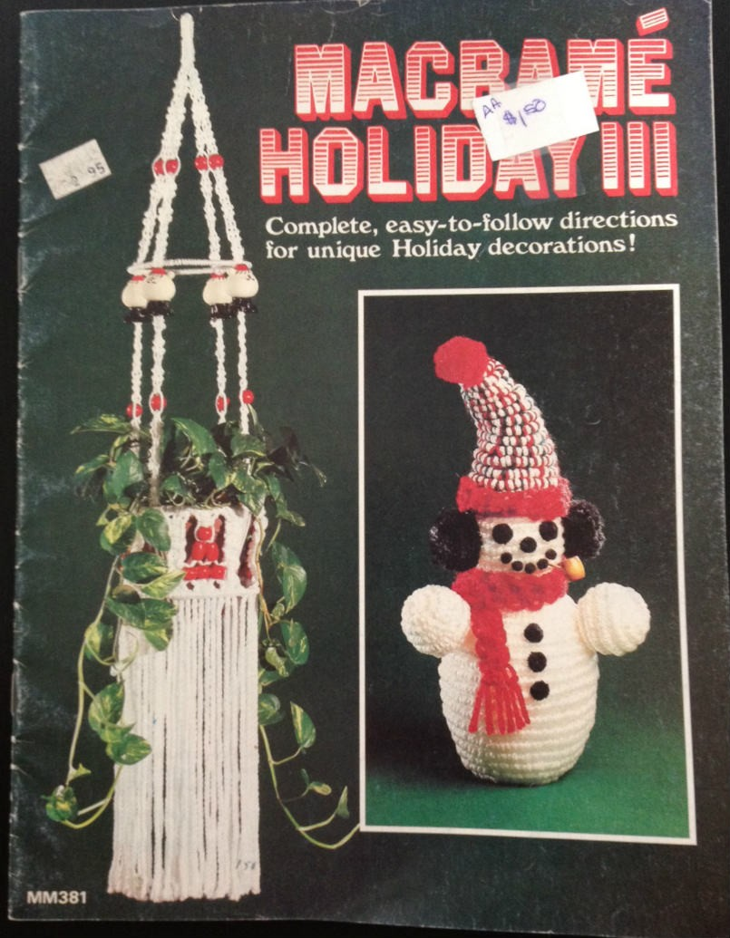 70s Christmas.The Real War On Christmas Was Started By 70s Macrame