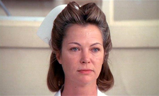 Louise Fletcher won Best Actress for 1975's One Flew Over The Cuckoo's Next, but she was really supporting. It was a bad year for lead femmes, though (much as I love Ann-Margret in Tommy), and they apparently needed to fill up the category. Besides, Nurse Ratched was by far the film's biggest female role.