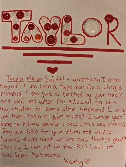 An Exclusive First Look At Some Of Taylor Swift S Trashed Fan Mail The Village Voice