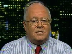 Bill Donohue, whose face always looks like that.