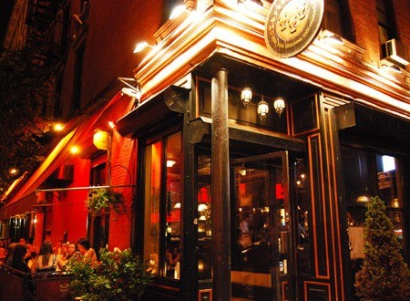 Three of Cups offers two happy hour specials--on two different levels.