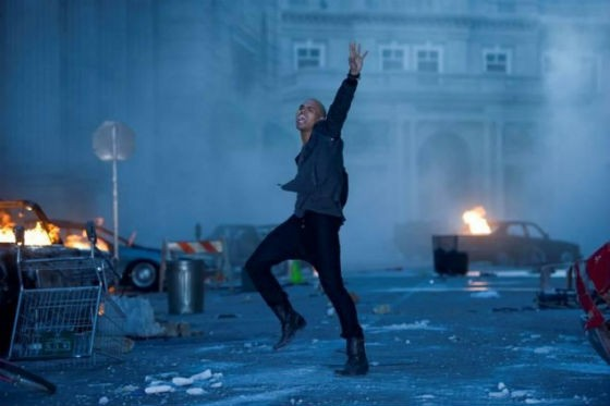 Photo depicts the Post-Apocalyptic Hellscape Pop Music will become should Chris Brown retire.