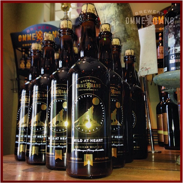 Wild at Heart, the newest of Ommegang's Brewmaster's Obsession Series, made with Wild Brett yeast.
